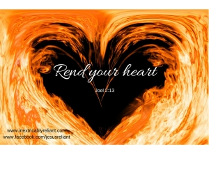 Rend your heart blog