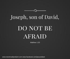 Joseph, son of David,